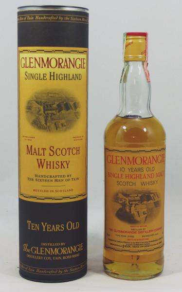 Glenmorangie 10 Jahre old Style 2nd Generation Screw Cap