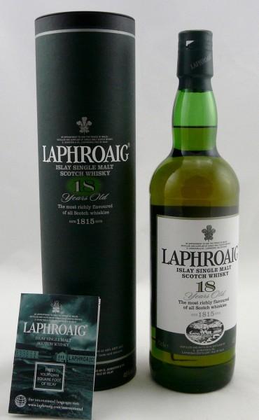 Laphroaig 18 Jahre grüne Tube