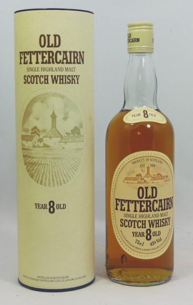 Fettercairn 8 years old 80's