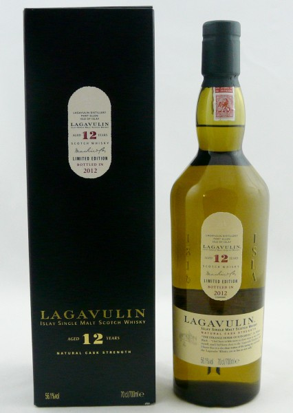 Lagavulin 12 Jahre b. 2012 Special Release