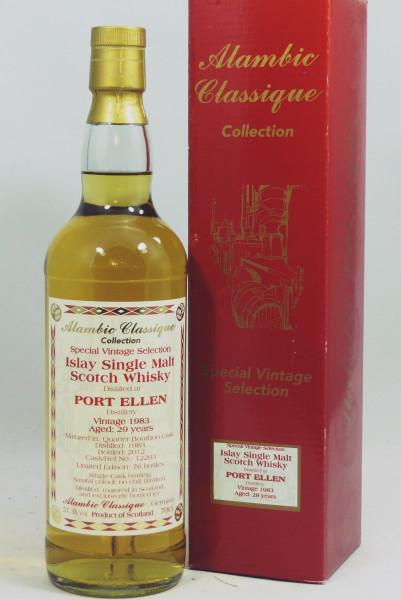Port Ellen 29 Jahre 1983 Alambic Classique Special Vintage Selection #12203