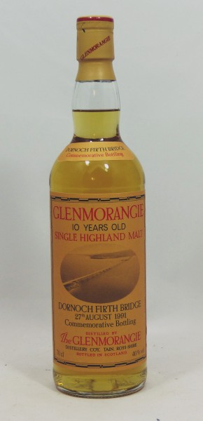 Glenmorangie 10 Years 1991 Dornoch Firth Bridge Commemorative