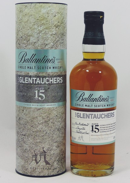 Glentauchers 15 years old - Ballantine's Series No. 003