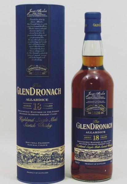 Glendronach 18 Jahre Allardice b. 2015
