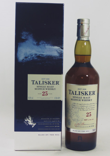 Talisker 25 Jahre Release 2015
