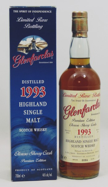 Glenfarclas 1993 b. 2011 Limited Rare Bottling Oloroso Sherry Casks