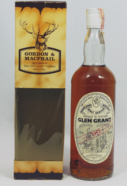 Glen Grant 1952 G&M Licensed Bottling
