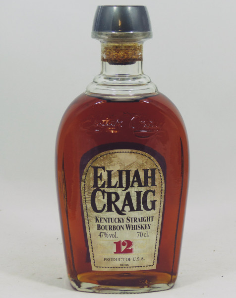 Elijah Craig 12 Years Kentucky Bourbon Whiskey - old Style