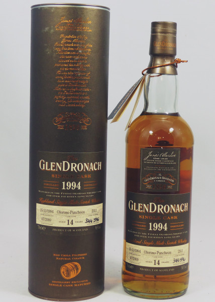 Glendronach 14 Jahre 1994 Single Cask 2311 Oloroso Sherry Cask
