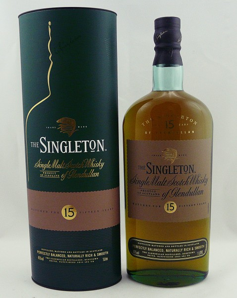 The Singleton of Glendullan 15 Jahre 1 Liter