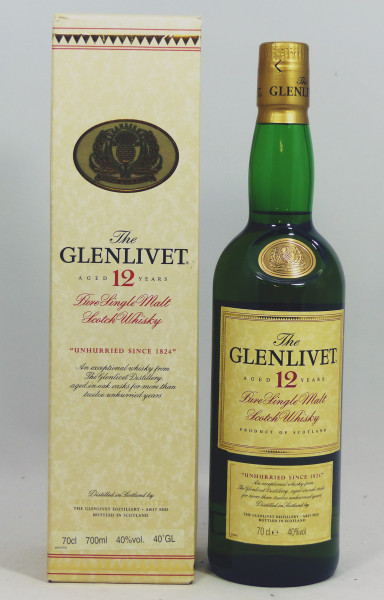 Glenlivet 12 Jahre Pure Single Malt - Unhurried Since 1824