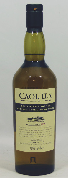Caol Ila Limited Edition 2007 for The Friends of The Classic Malts