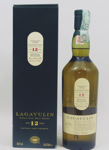 Lagavulin 12 Jahre Cask Strength b. 2004 Special Release