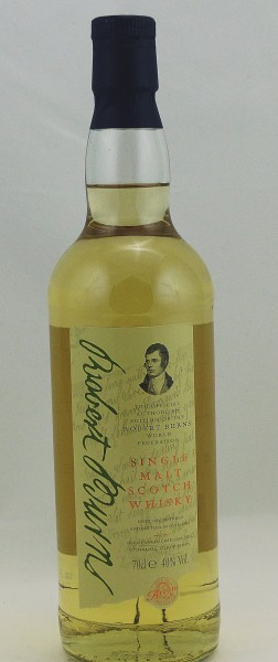 Arran Robert Burns - old Bottling