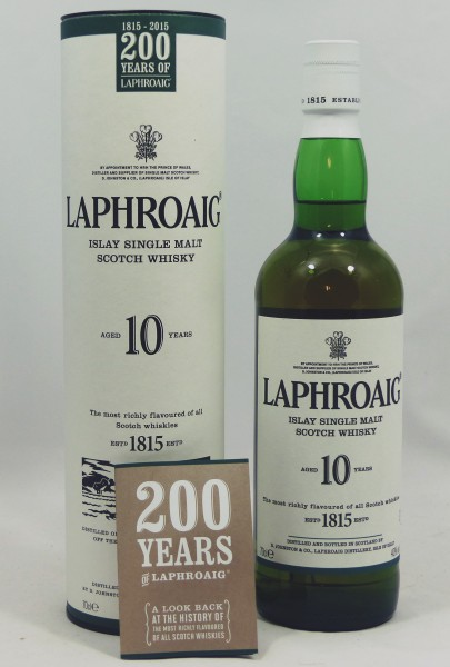Laphroaig 10 Jahre 200 Years of Laphroaig
