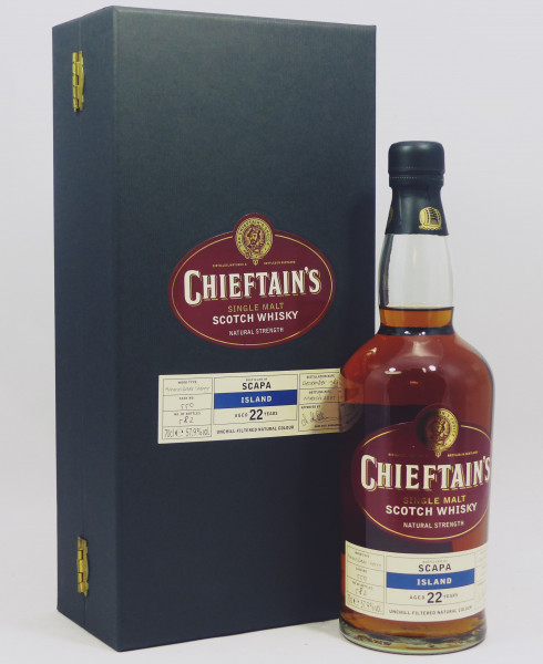 Scapa 1982 Ian Macleod Chieftain's - Amontillado Cask 550