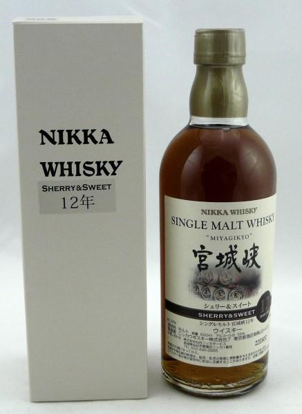Miyagikyo 12 years Key Malt Sherry&Sweet