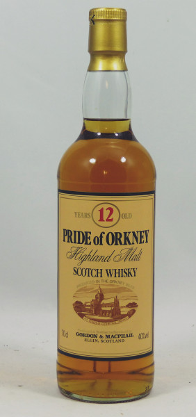 Pride of Orkney 12 years G&M