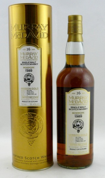 Bowmore 1989 Murray McDavid Mission Gold Limited Release Cask 3
