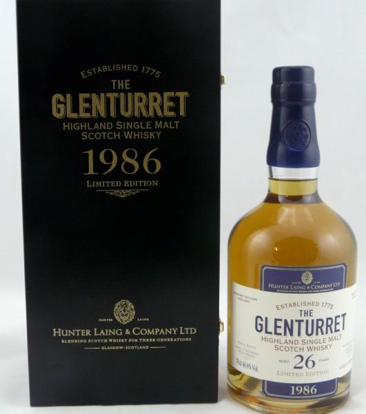 Glenturret 26 years 1986 Limited Edition