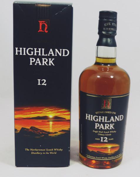 Highland Park 12 Jahre alte Abfüllung old Style