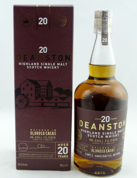 Deanston 20 years Oloroso Sherry Casks