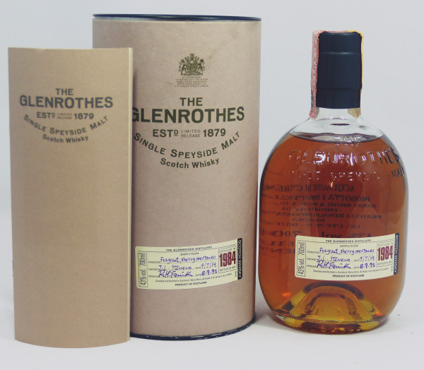 Glenrothes Vintage 1984 bottled in 1997