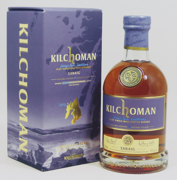Kilchoman Sanaig 2018