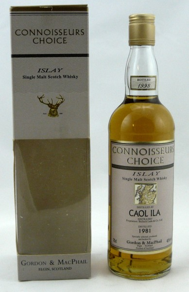 Caol Ila 1981 b. 1998 G&M Connoisseurs Choice