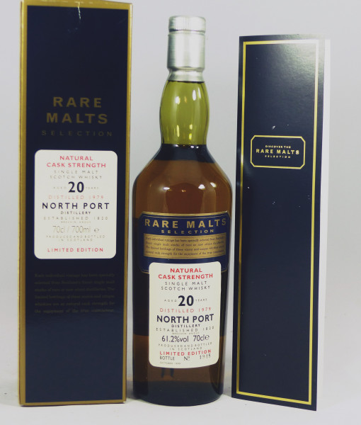 North Port 20 years 1979 b. 1999 Rare Malts Selection 61,2%