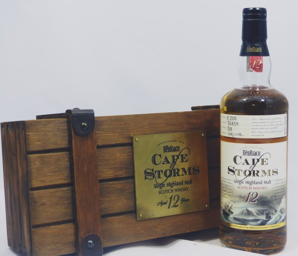 Benriach 12 Jahre Cape of Storms in Wooden Box Single #70459