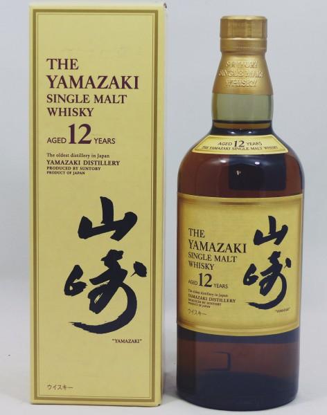 Yamazaki 12 years Japanese Backlabel für jap. Markt