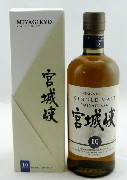 Miyagikyo 10 years Nikka Whisky