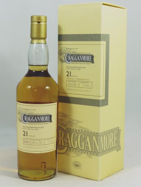 Cragganmore 21 Jahre 1989 Diageo Special Release 2010 56%
