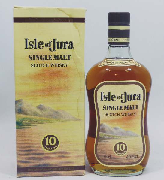 Isle of Jura 10 Jahre old oval Label 1980's
