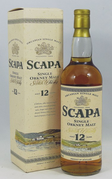 Scapa 12 Years old Style Bottling 90ies