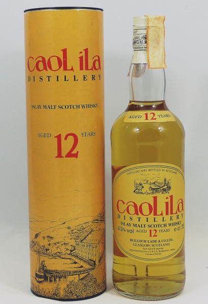 Caol Ila 12 years old Style Bulloch Lade & Co. for Zenith Italia