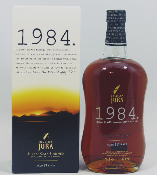 Isle of Jura 1984 19 Jahre George Orwell Commemorative Edition