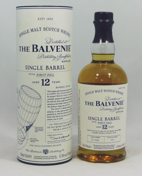 Balvenie 12 Jahre Single Barrel First Fill Cask No. 3196