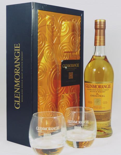 Glenmorangie 10 Jahre Original Gift Set 2 Glases/Tumbler aus 2011