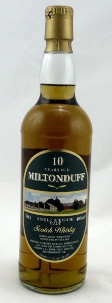 Miltonduff 10 Jahre Single Speyside Malt G&M