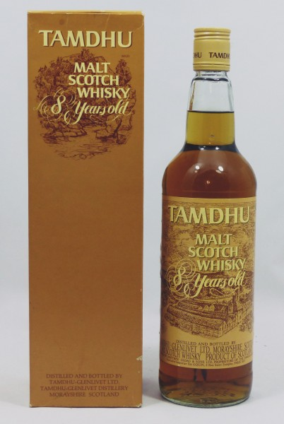 Tamdhu 8 years - OB, old Style brown Label 70's/80's