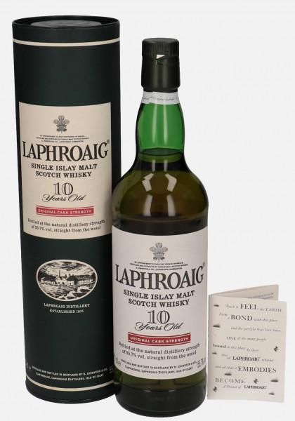 Laphroaig 10 Jahre Cask Strength 55,7%