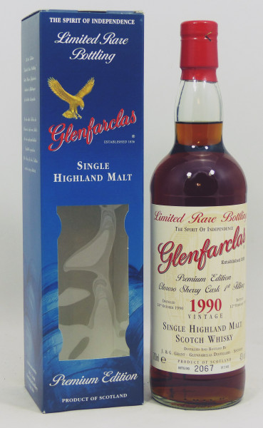 Glenfarclas 1990 b. 2007 Limited Rare Bottling 1st fill Oloroso Sherry Casks