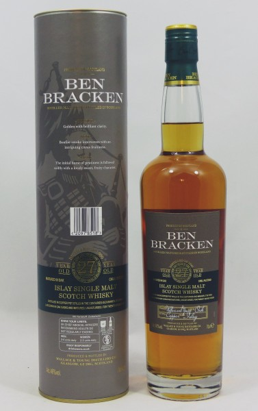 Ben Bracken 27 years old Islay Single Malt