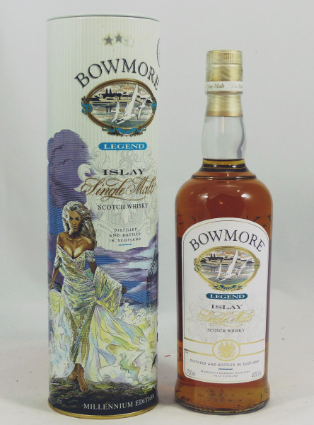 "Bowmore Legend old style TIN ""The Princess Giant"""