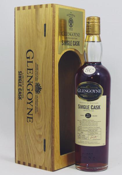 Glengoyne 21Y 1988 b. 2009 Single Cask 780 1st Fill Oloroso
