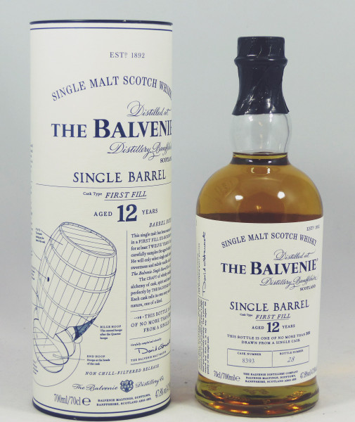 Balvenie 12 Jahre Single Barrel First Fill Cask No. 8393