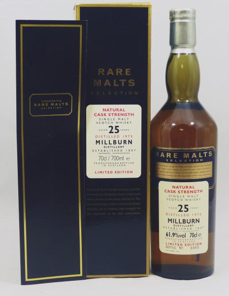 Millburn 25 Jahre 1975 Rare Malts Selection