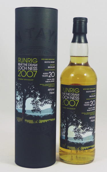 Macallan 20 Jahre Duncan Taylor Runrig Beat The Drum - Loch Ness 2007